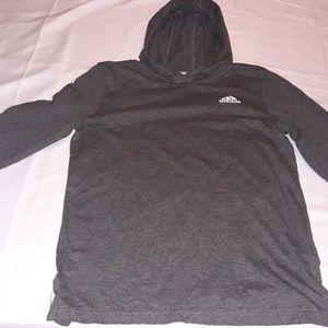Kids medium Adidas logo tshirt hoody